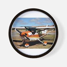 Plane: high wing Wall Clock