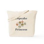 Cupcake Princess Tote Bag