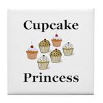 Cupcake Princess Tile Coaster