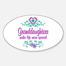 Special Granddaughter Stickers