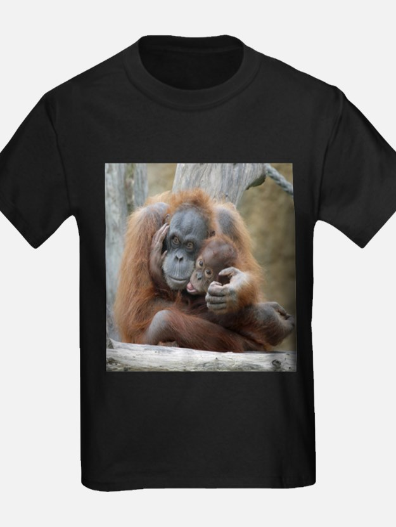 Baby orangutan t shirts shirts tees custom baby for Baby custom t shirts