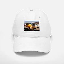 Piper Cub Aircraft (yellow & white) Baseball Baseball Cap