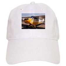 Piper Cub Aircraft (yellow & white) Baseball Cap