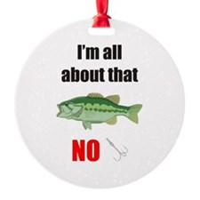 I'm all about that Bass No Treble Ornament