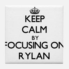 Keep Calm by focusing on on Rylan Tile Coaster