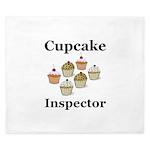 Cupcake Inspector King Duvet