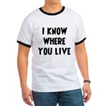KnowWhereYouLive Ringer T
