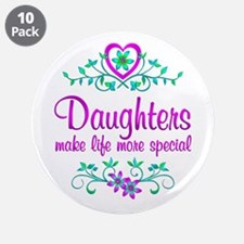 """Special Daughter 3.5"""" Button (10 pack)"""