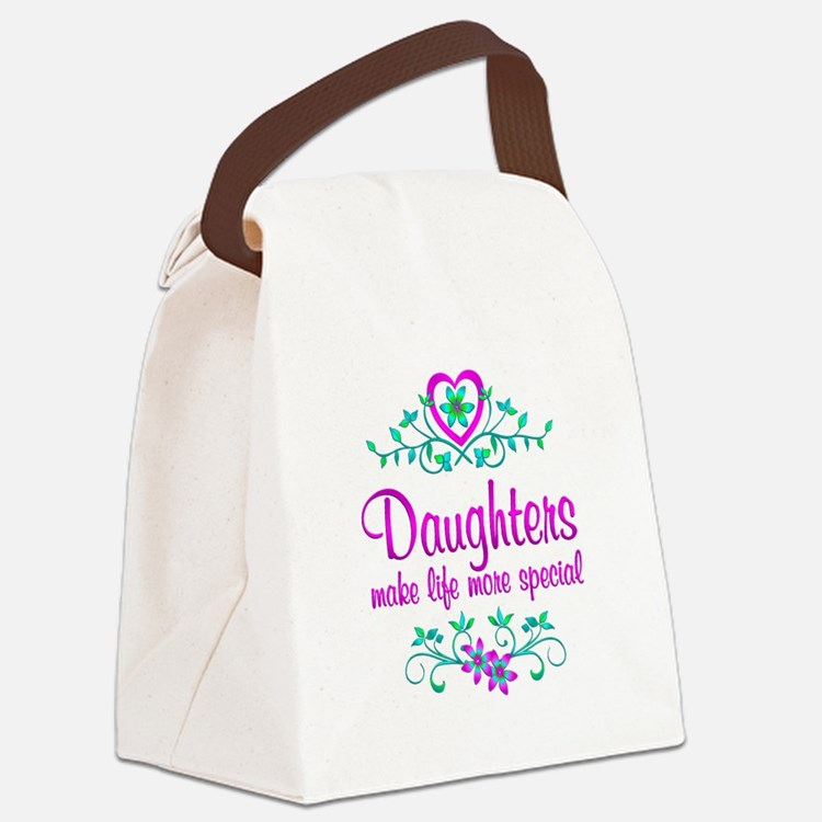 Special Daughter Canvas Lunch Bag