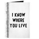 KnowWhereYouLive Journal