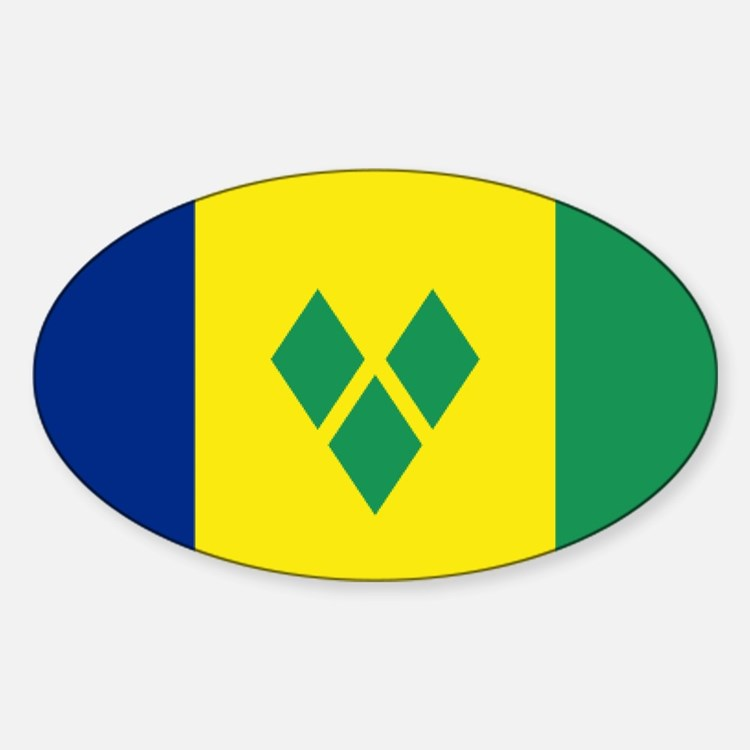 St Vincent & The Grenadines Nal fla Decal