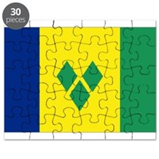St Vincent & The Grenadines Nal flag Puzzle