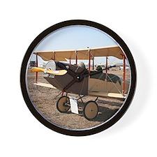 Curtiss Jenny Biplane Aircraft Wall Clock