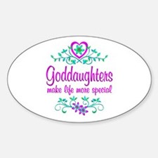 Special Goddaughter Decal