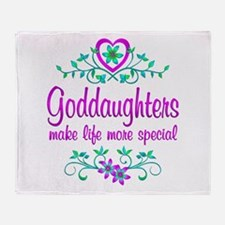 Special Goddaughter Throw Blanket