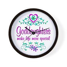 Special Goddaughter Wall Clock