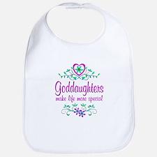 Special Goddaughter Bib