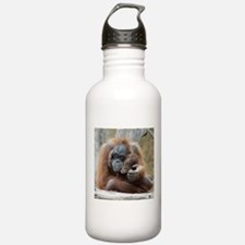 OrangUtan001 Water Bottle