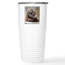 OrangUtan001 Travel Coffee Mug