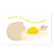 Like Your Eggs? Postcards (Package of 8)