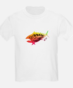 Wow Retro Tuna T-Shirt