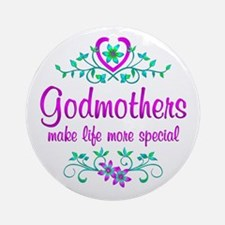 Special Godmother Ornament (Round)