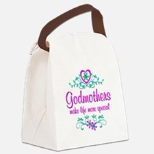 Special Godmother Canvas Lunch Bag