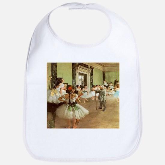 Degas Dance Class Bib