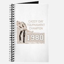 Caddy Day Tournament Champion Journal