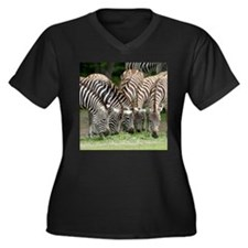 Zebra009 Plus Size T-Shirt