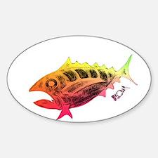 Wow Retro Tuna Decal