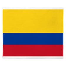 Colombia National Flag King Duvet