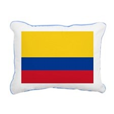 Colombia National Flag Rectangular Canvas Pillow