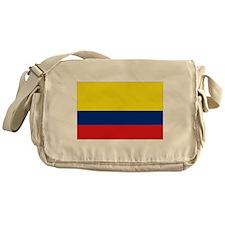Colombia National Flag Messenger Bag