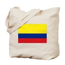 Colombia National Flag Tote Bag