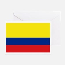 Colombian flag Greeting Cards (Pk of 10)
