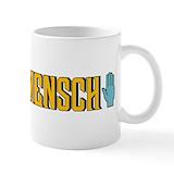 Mensch Coffee Mugs