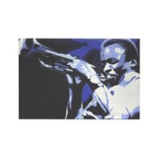Cute Miles davis Rectangle Magnet