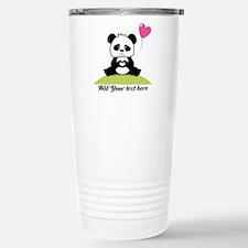 Panda's hands showing l Stainless Steel Travel Mug