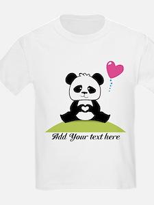Panda's hands showing love T-Shirt