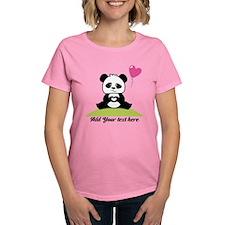 Panda's hands showing love Tee