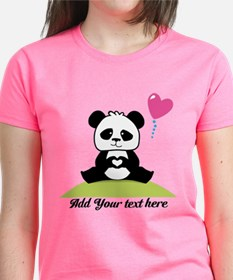 Panda's hands showing love Tee