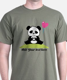 Panda's hands showing love T-Shirt