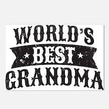 World's Best Grandma Postcards (Package of 8)
