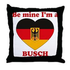 Busch, Valentine's Day Throw Pillow