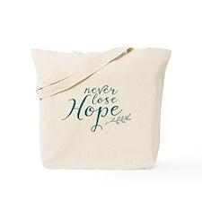 Cute Cure ovarian cancer Tote Bag