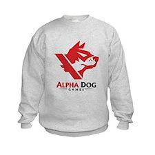Alpha Dog Games Red Logo Sweatshirt