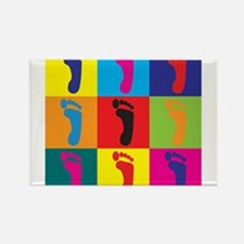 Cute Podiatry Rectangle Magnet