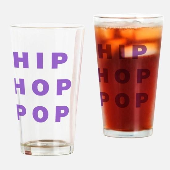 HIP HOP POP Drinking Glass