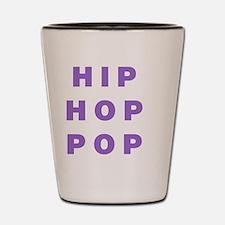 HIP HOP POP Shot Glass